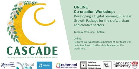 ONLINE Cocreation Workshop:  Business Growth Package for Creative Sectors tickets