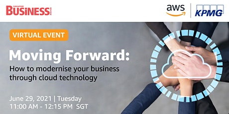 Moving Forward: How to modernise your business through cloud technology tickets