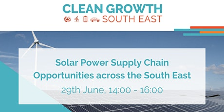 Solar Power Supply Chain Opportunities tickets