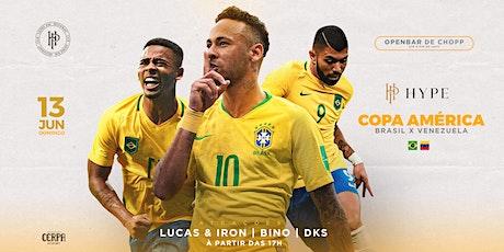 HYPE Copa América 2021 ingressos