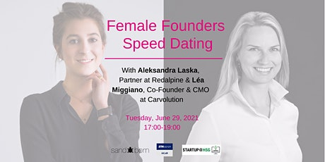 Female Founders Speed Dating tickets