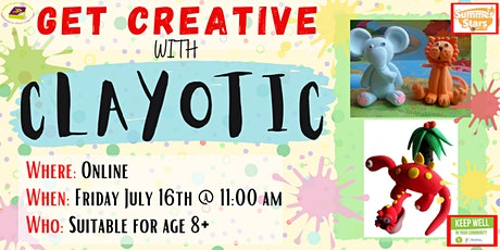 Summer Stars : Clayotic No Mess Modelling Clay Workshop tickets