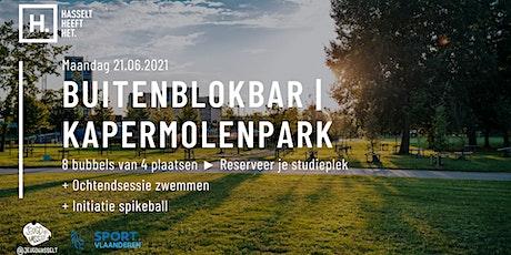 Buitenblokbar Kapermolen | 21.06 tickets