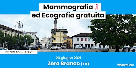 Mammografia ed Ecografia Gratuita - Zero Branco (TV) biglietti