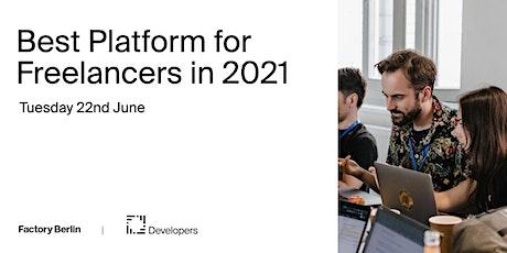 Best Platform for Freelancers in 2021 tickets