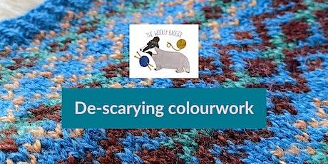 De-scarying colourwork - online knitting workshop tickets