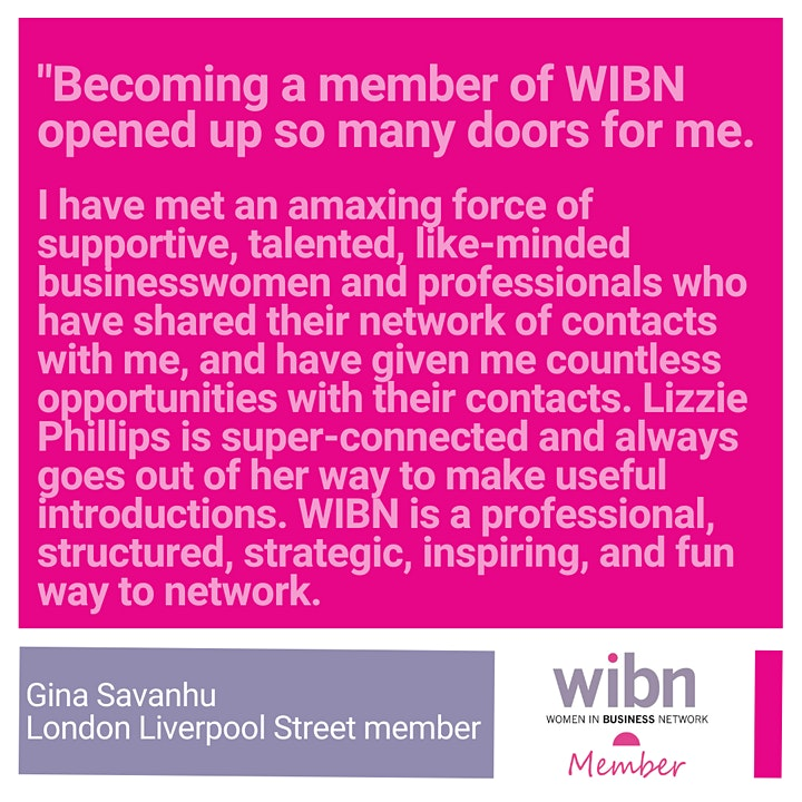 Women in Business Networking - London Liverpool Street & City image
