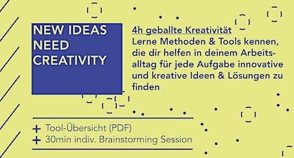 Kreativ Arbeiten - 101 Creativity Tools für deinen Arbeitsalltag Tickets