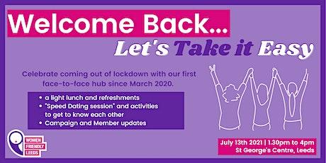 Welcome Back: Face-to-Face Women Friendly Leeds Women's Hub tickets