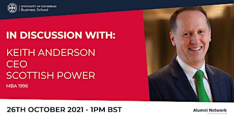 In Discussion with...Keith Anderson tickets