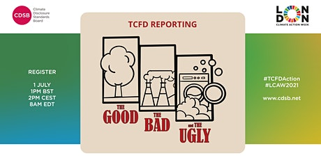 TCFD Reporting; the good, the bad, and the ugly tickets