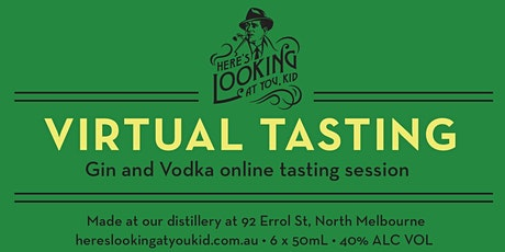 Virtual Gin and Vodka Tasting Event - St Vinnies Fundraiser tickets