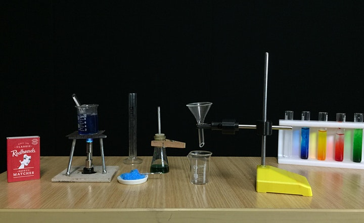 Two Day - Tiny Science Lab - Chemistry Holiday Day Camp  - Ages 11 to 14 image