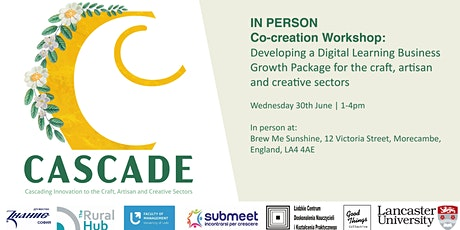 IN PERSON Cocreation Workshop:  Business Growth Package for Creative Sector tickets