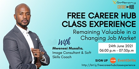 Free Centonomy Career Hub Class Experience tickets