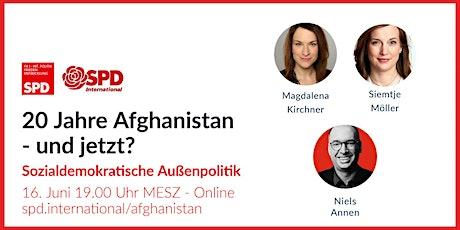 20 Jahre Afghanistan - und jetzt? Tickets