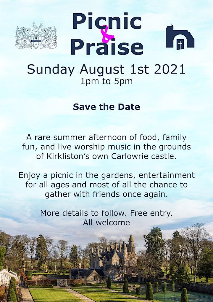 Picnic & Praise at Carlowrie Castle image