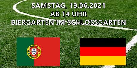 EM Liveübertragung - Portugal vs. Deutschland Tickets