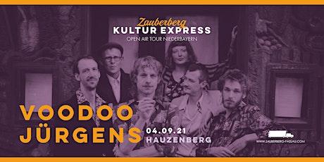 Voodoo Jürgens • Hauzenberg • Zauberberg Kultur Express Tickets