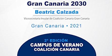 """II Campus de verano CC: """"Gran Canaria 2030"""" entradas"""