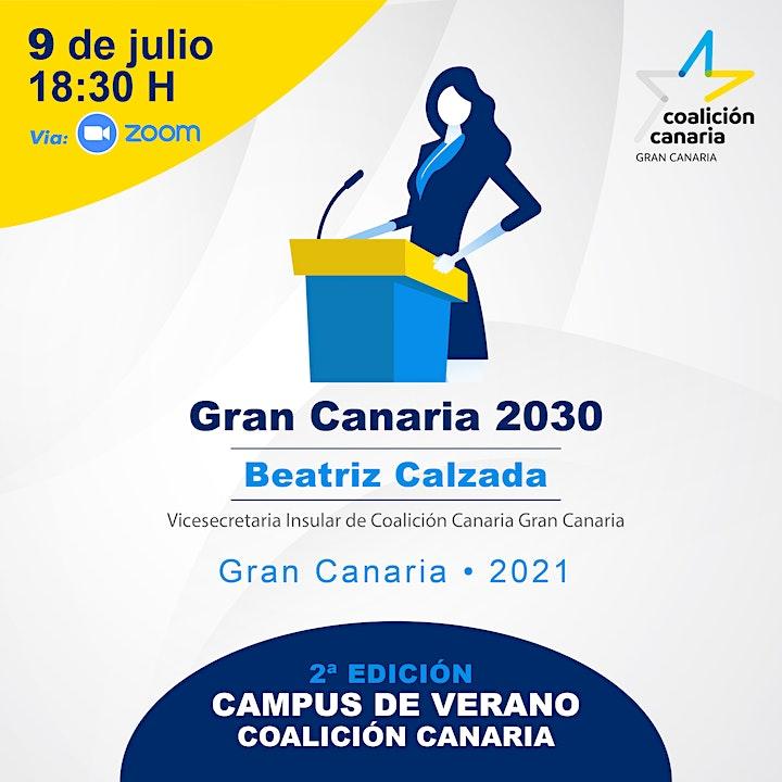 """Imagen de II Campus de verano CC: """"Gran Canaria 2030"""""""