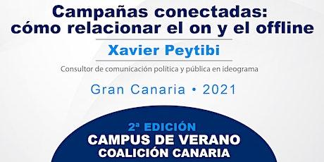 """II Campus de verano CC:""""Campañas conectadas: cómo relacionar el on/offline"""" ingressos"""