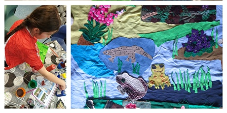 Drop-in Arts & Crafts Mapestry with Froglife tickets