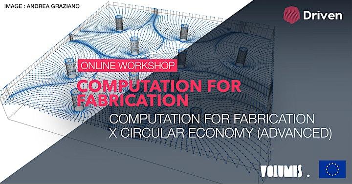 Online workshop: Computation for Fabrication image
