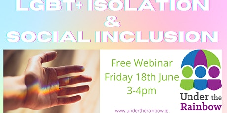LGBT+ Isolation & Social Inclusion Tickets