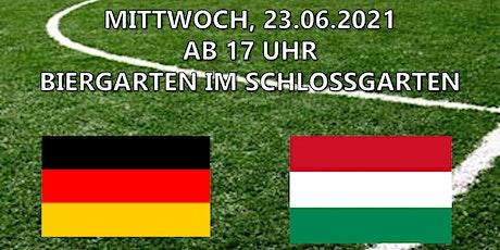 EM Liveübertragung - Deutschland vs. Ungarn Tickets