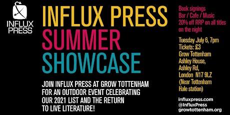 Influx Press Summer Showcase tickets