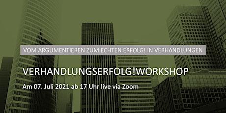 Verhandlungserfolg!Workshop Tickets