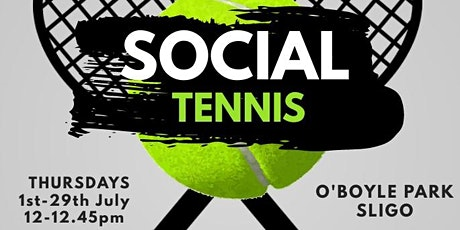 Social Tennis for 9-12years at O'Boyle Park tickets