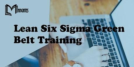 Lean Six Sigma Green Belt 3 Days Training in Monterrey tickets