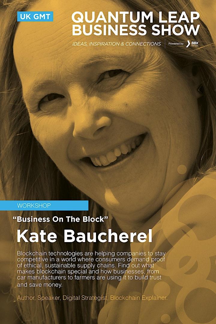 Business on the Block - Kate Baucherel image
