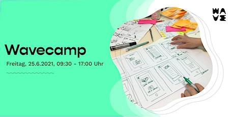 Wavecamp - Praktische Tools und Methoden zum Ideen finden und umsetzen Tickets