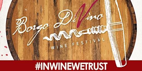 Borgo DiVino 2021 Summer Edition biglietti