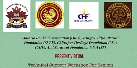 Technical Support Workshop for Seniors tickets