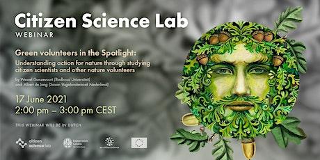 CS Lab Webinar: De motivaties van natuurwaarnemers tickets