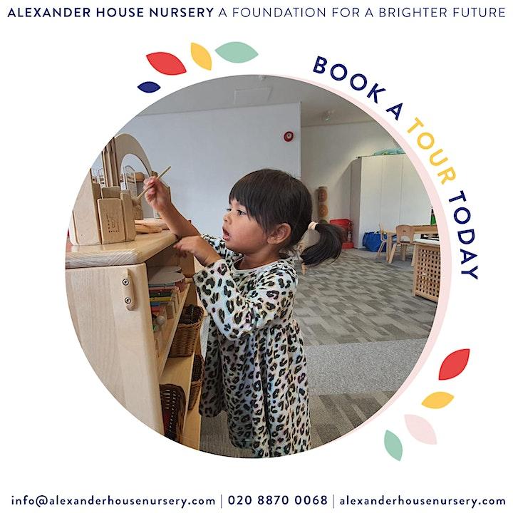 Open Day - Alexander House Nursery Wandsworth image