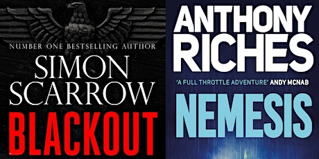 Simon Scarrow & Anthony Riches: From Swords & Sandals to Guns & Gumshoes tickets