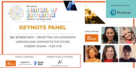 FoE Keynote | BBC – Reflecting on Lockdown Learning & Looking to the Future tickets