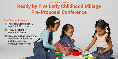 Ready by Five Millage Pre-Preprosal Conference Afternoon Session tickets