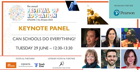 FoE Keynote Panel   Can schools do everything? tickets