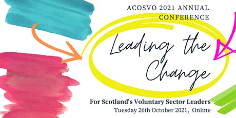 ACOSVO Annual Conference: Leading the Change tickets