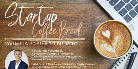 Startup Coffee Break Vol. IX tickets