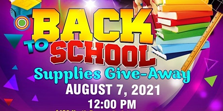 Leveling Up For Education Supplies Give-Away 2021 tickets