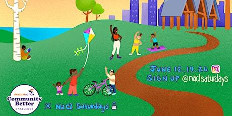 NaCl Saturdays x PartipACTION tickets