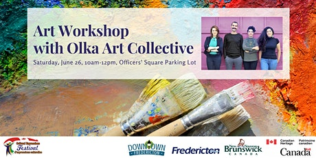 Art Workshop with Olka Art Collective tickets