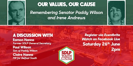 Remembering Paddy Wilson and Irene Andrews tickets